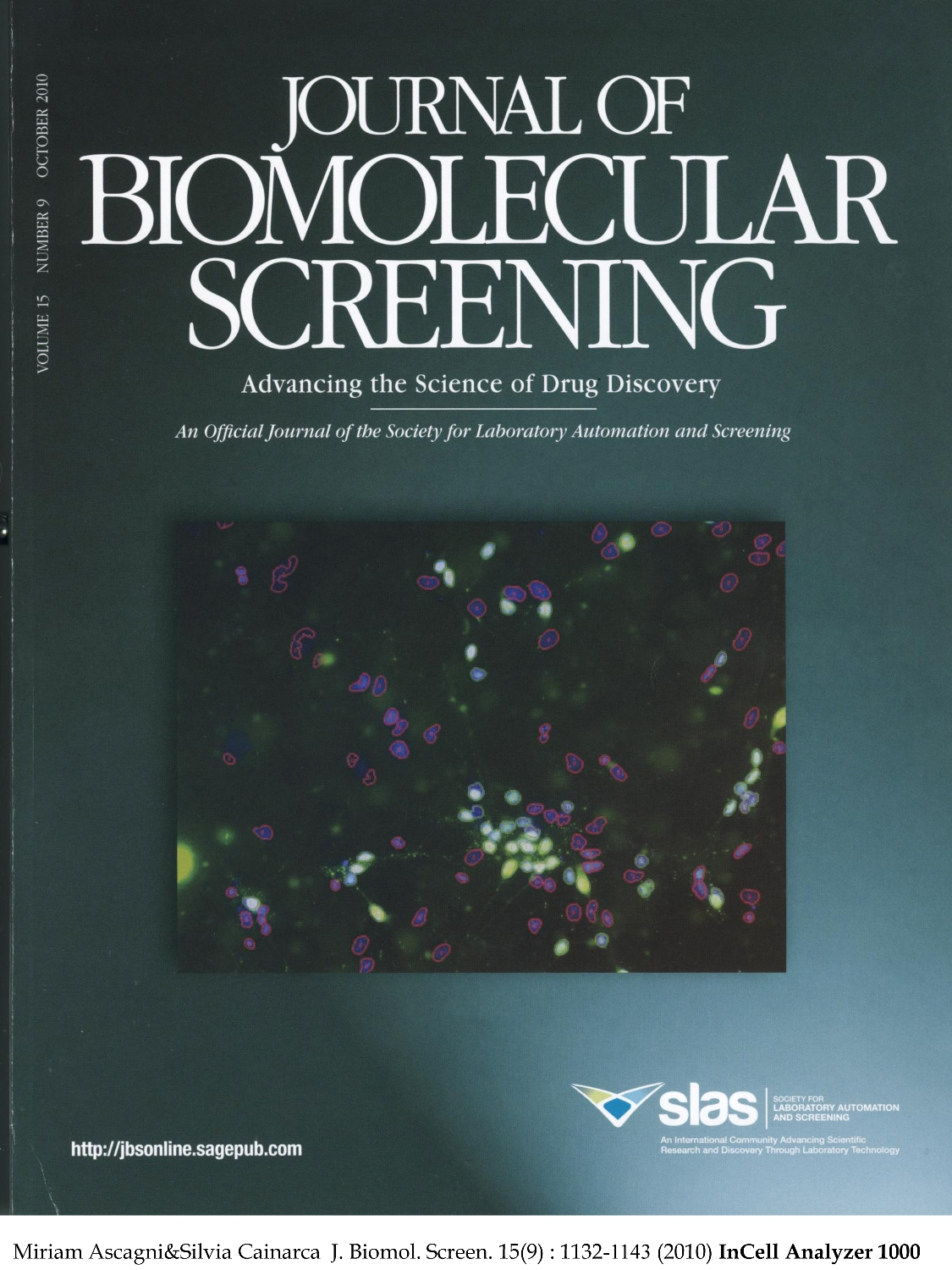 Journal of Biomolecular Screening